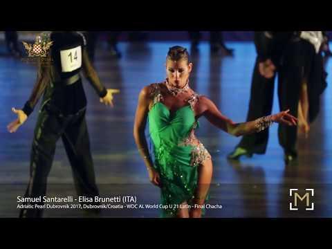 Samuel Santarelli - Elisa Brunetti (ITA)   Adriatic Pearl Dubrovnik 2017 - U21 World Cup LAT - F C