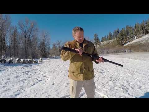 Loading and Shooting a Pump Action Shotgun