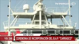Buque oceanográfico Carrasco se incorpora a la Marina