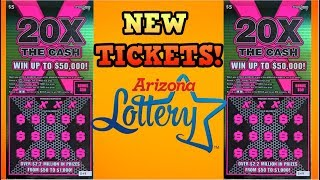 20X THE CASH NEW SCRATCH OFF TICKETS 💰💰