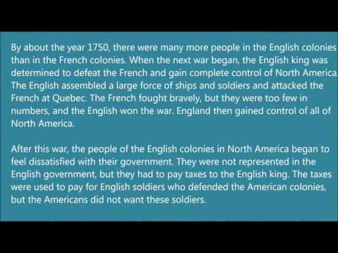 Learn English via Listening Level 3   Lesson 21   The Origins of Canada and The United States