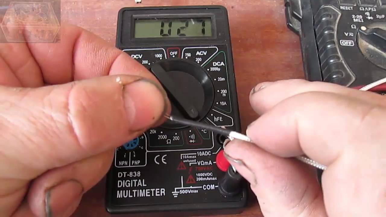 Ebay Haul Pt 4 Dt 838 Multimeter Ac Dc Probe Nb 11l Charger