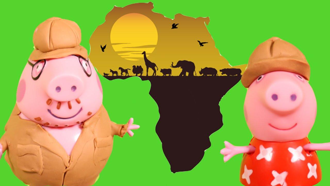 Peppa Pig S World Tour Africa Safari Daddy Pig