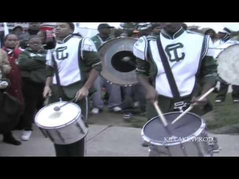Southfield Lathrup v.s. Cass Tech High School - Percussion Challenge - 2010