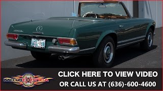 1967 Mercedes-Benz 230SL || SOLD