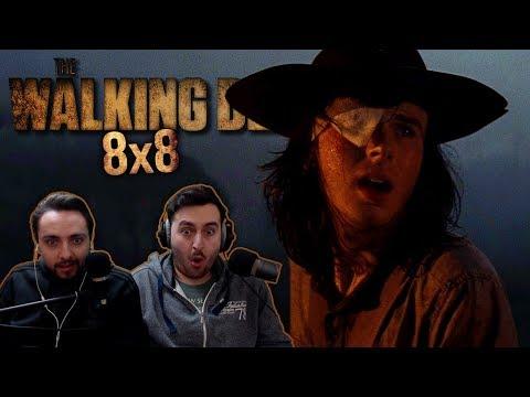 """The Walking Dead Season 8 Episode 8 REACTION """"How It's Gotta Be"""""""