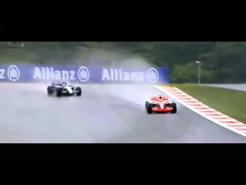 Mark Webber swearing about Sebastian Vettel at Fuji 2007