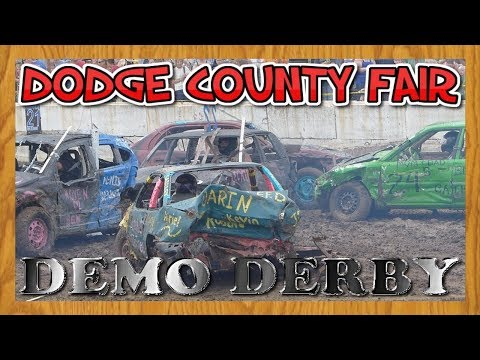 Demo Derby | Small Car Demolition | Dodge County Fair Greatest Hits