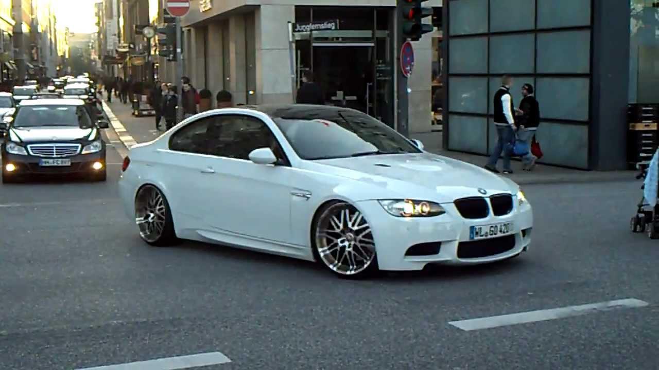Bmw M3 E92 Very Loud Acceleration Youtube