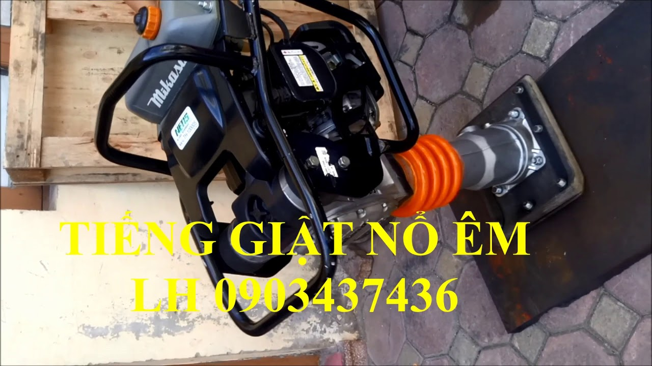 Máy đầm cóc MT55 (MT55)//0903437436//Máy đầm cóc chạy xăng Nhật Bản MT55L (Mikasa MT55) - YouTube