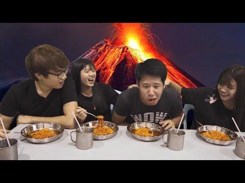 韩国x2辣面4选1游戏! KOREAN X2 SPICY NOODLE GAME
