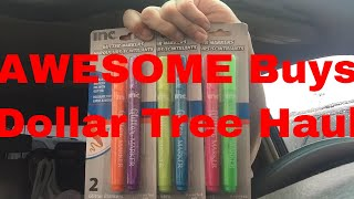 Dollar Tree Haul || AMAZING buys yet again || September 4, 2019 || K is for Karen
