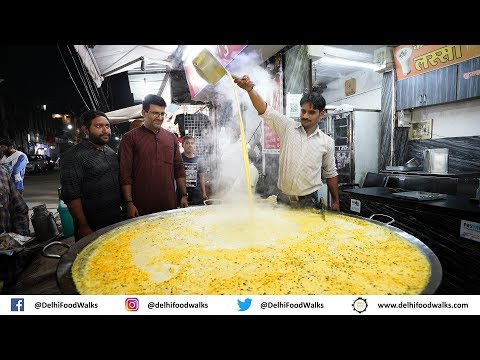 Indore STREET Food Tour - BEST Rasgulla in India + BAKED Samosa + LAL BALTI Kachori + Usal Poha 1/2