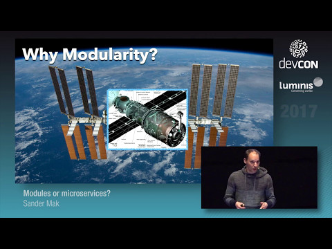 Modules or microservices? - Sander Mak [Luminis DevCon 2017]