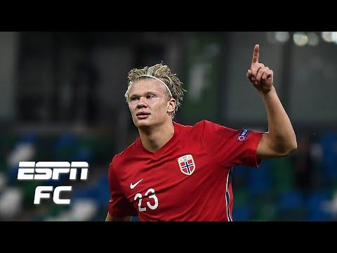 Erling Haaland Brilliant For Norway Vs Northern Ireland Jan Aage Fjortoft Espn Fc E Radio Usa