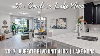 Lake Nona Condo For Sale   7517 Laureate Blvd Unit 4105 Orlando FL 32827   Call 1-844-Corcoran