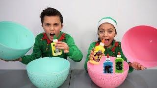 Don't Choose the Wrong Egg Glue Slime Challenge #2