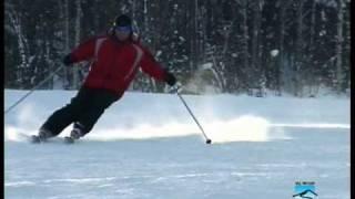 ZOOM 2/3 Школа горных лыж: виды поворотов
