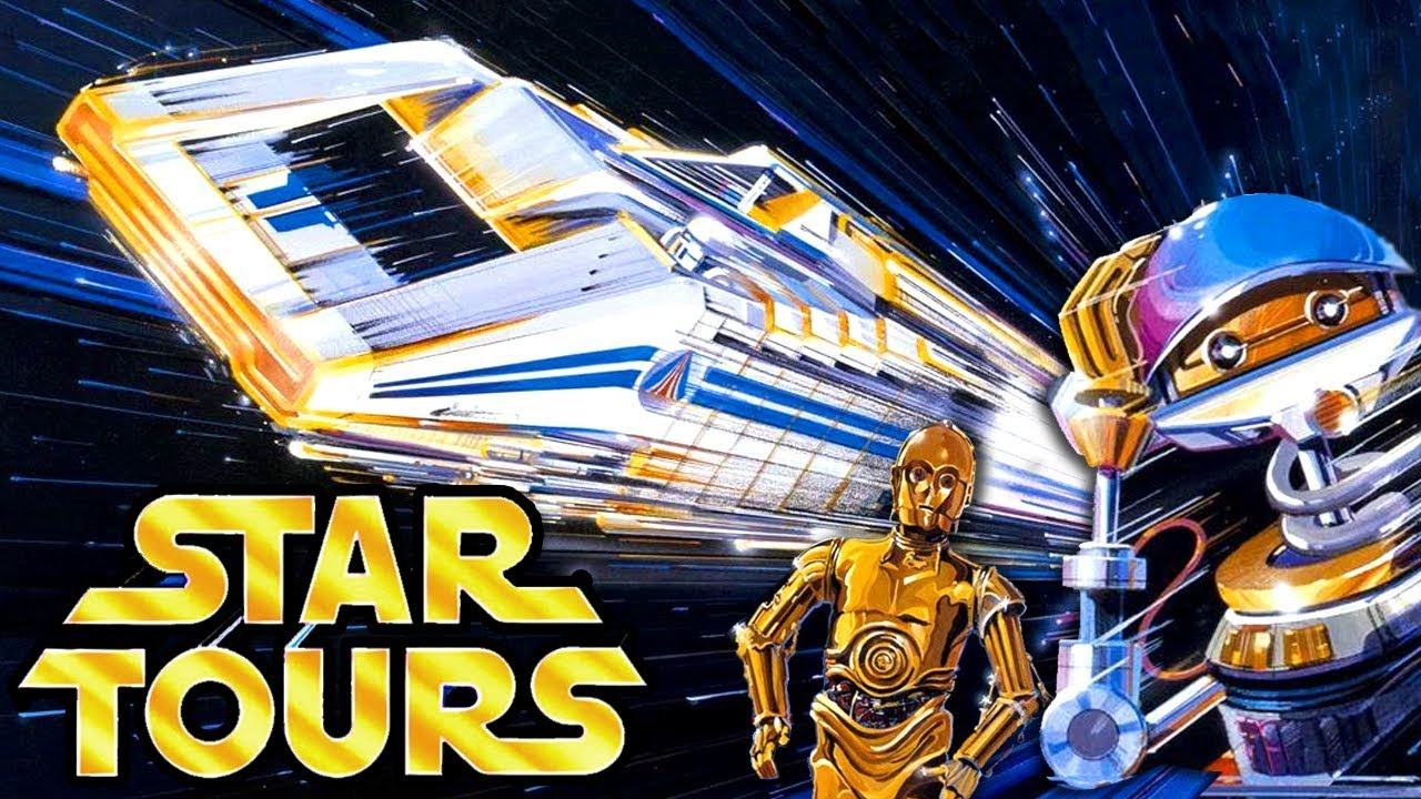 Yesterworld A Star Tours Story The History Of Disney