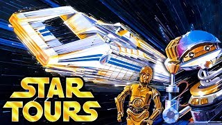 Yesterworld: A Star Tours Story  The History of Disney's Abandoned Star Wars Attraction