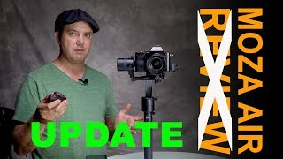 Update - Gudsen Moza Air 3 axis Gimbal tech support answered and how to calibrate.