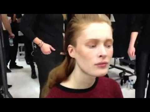 SHIT Makeup Artists Say -- Backstage At Jeremy Laing Show
