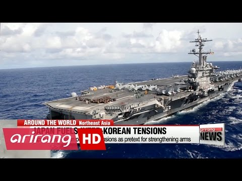 Japan uses Korean peninsula tensions as pretext for strengthening arms