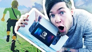 Repeat youtube video I'VE GOT A NINTENDO SWITCH!!! (Zelda: Breath of the Wild Gameplay)