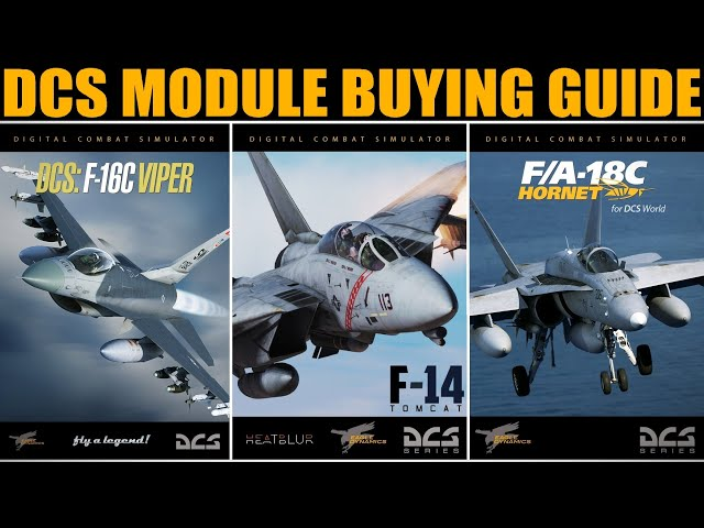 DCS World Module Quick Reference Comparison & Buyers Guide