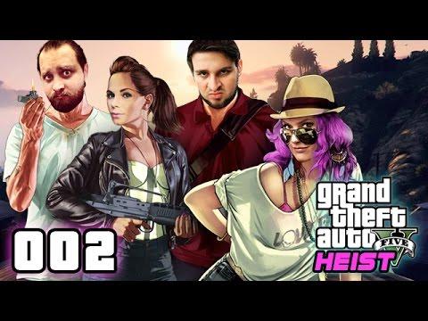 "GTA V ONLINE ★ HEIST ""HUMANE LABS"" #002 Checks halt! [HD] Live Twitch vom 11. Sep"