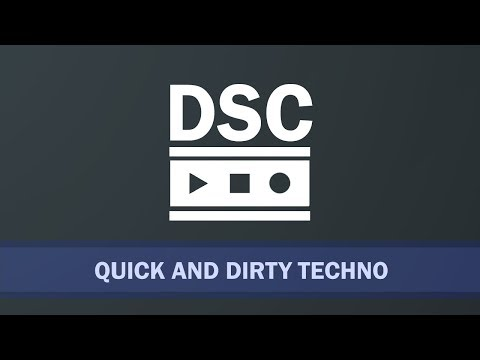 Ableton Live 10 - Quick and Dirty Techno Mp3