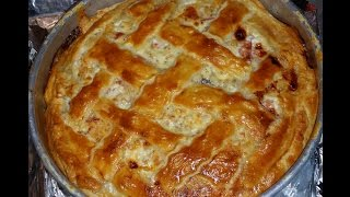 Kitchenasium Easter Grain Pie Pizza Rustica