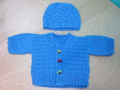 How To Knit Newborne Baby Sweater Part 1 With Ruby St