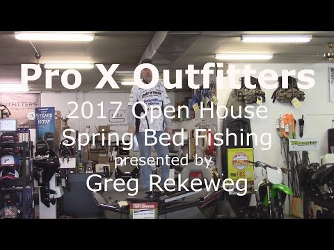 Pro X Outfitters Spring Bed Fishing