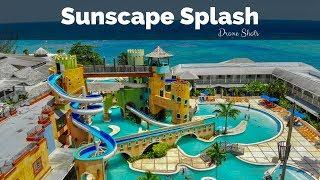 Sunscape Splash Drone Shots