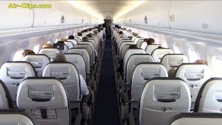 Lufthansa CityLine Embraer 195 FANTASTIC Frankfurt - Leipzig/Halle [AirClips full flight series]