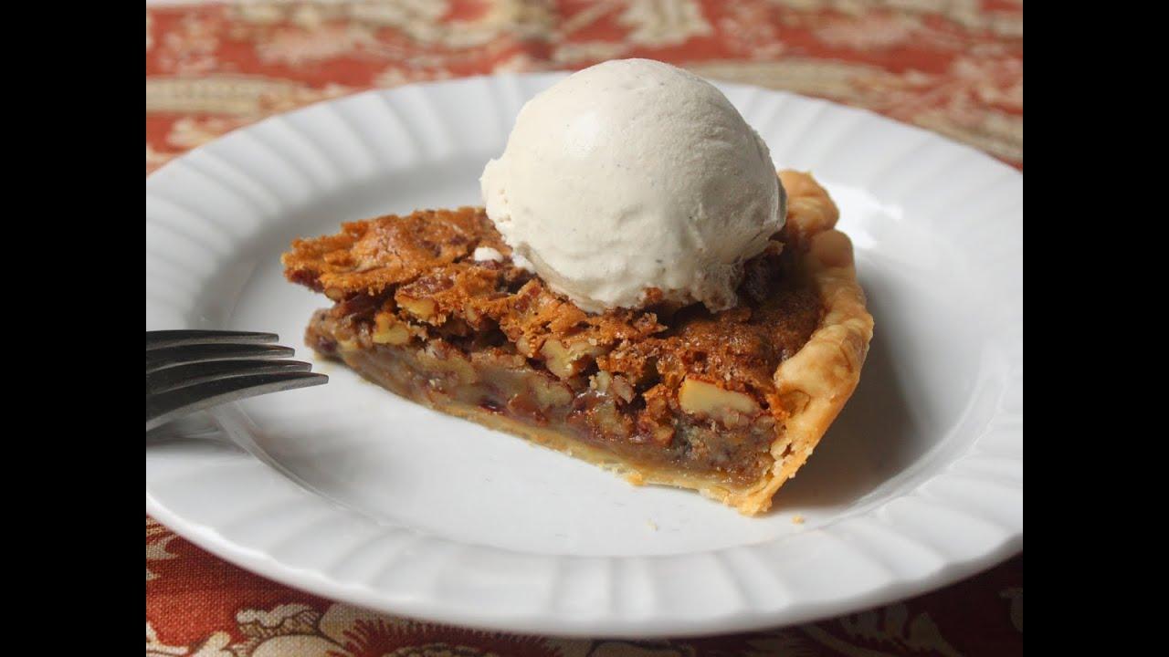 Chocolate Pecan Pie Recipe - Pecan Pie with Semi-Sweet Chocolate Chips ...