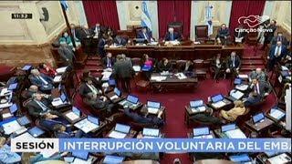 Argentina proíbe a liberação do aborto até a 14ª semana de gestação