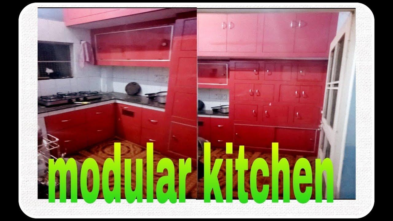 Small modular kitchen best modular kitchen design for Modular kitchen designs youtube