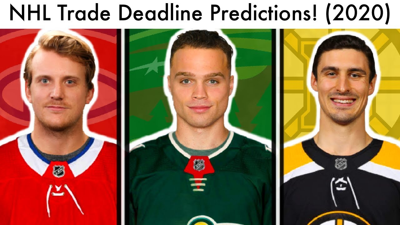 NHL Trade Deadline 2020: End Time, Latest Rumors and Predictions