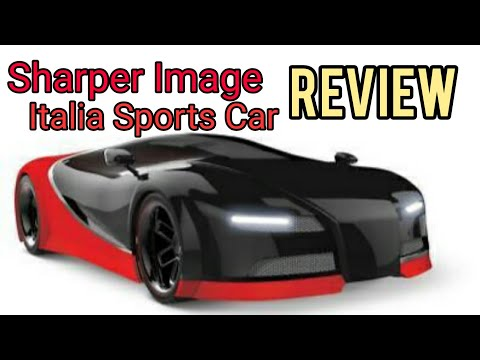 Sharper Image Toy RC  Italia  Sports Car Unboxing & Review
