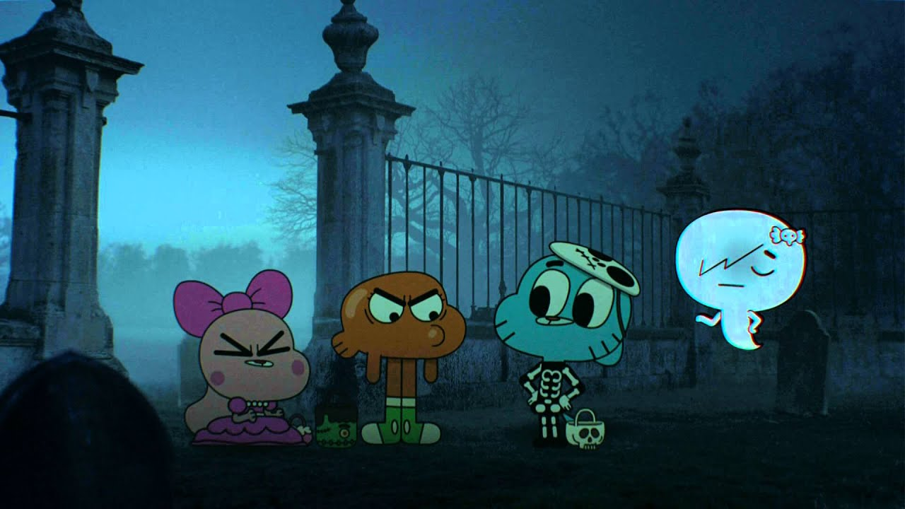 the amazing world of gumball preview halloween the treasure youtube - The Amazing World Of Gumball The Halloween