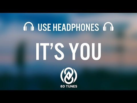 Ali Gatie - It's You | 8D AUDIO (with Rain)