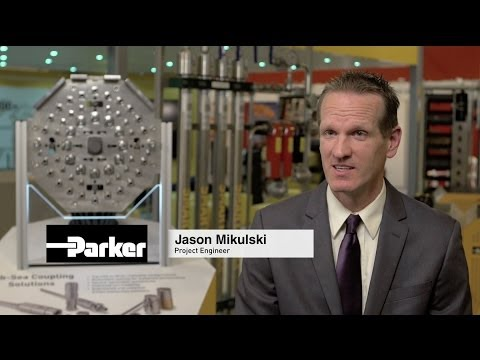 Parker Couplings for Offshore Oil & Gas Applications
