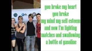 Fly Away Hero - Gasoline (Lyrics) YouTube Videos