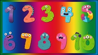 10 Little Numbers | Count to 10 | ABC Baby Songs - 123 Numbers