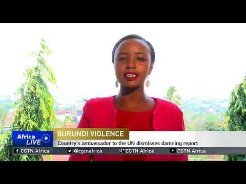 Burundian ambassador to the UN dismisses damning report