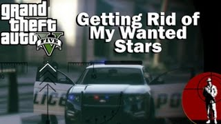 GTA 5 Getting Rid of your Wanted Stars