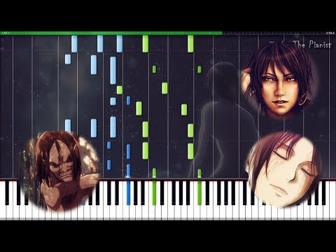Attack On Titan 2 - Call Of Silence | Synthesia Piano Tutorial | Zacky The Pianist