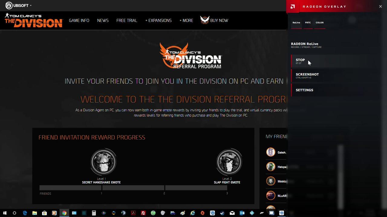 Ubisoft's Referral Program Free Emotes / Premium Credits Friend Me Now!
